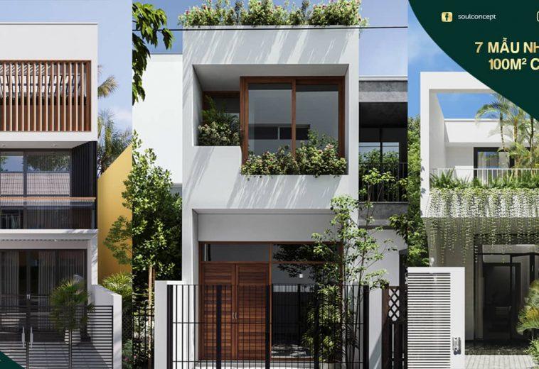 Top 7 mẫu nhà cấp 4 đẹp 100m2 chi phí rẻ 2 3 phòng ngủ