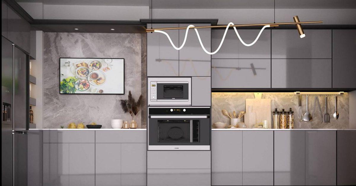 Thiết kế nội thất phòng bếp cần tuân thủ theo một số nguyên tắc