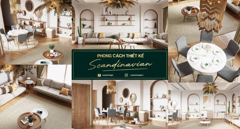 Khám phá phong cách thiết kế nội thất Bắc Âu – Scandinavian