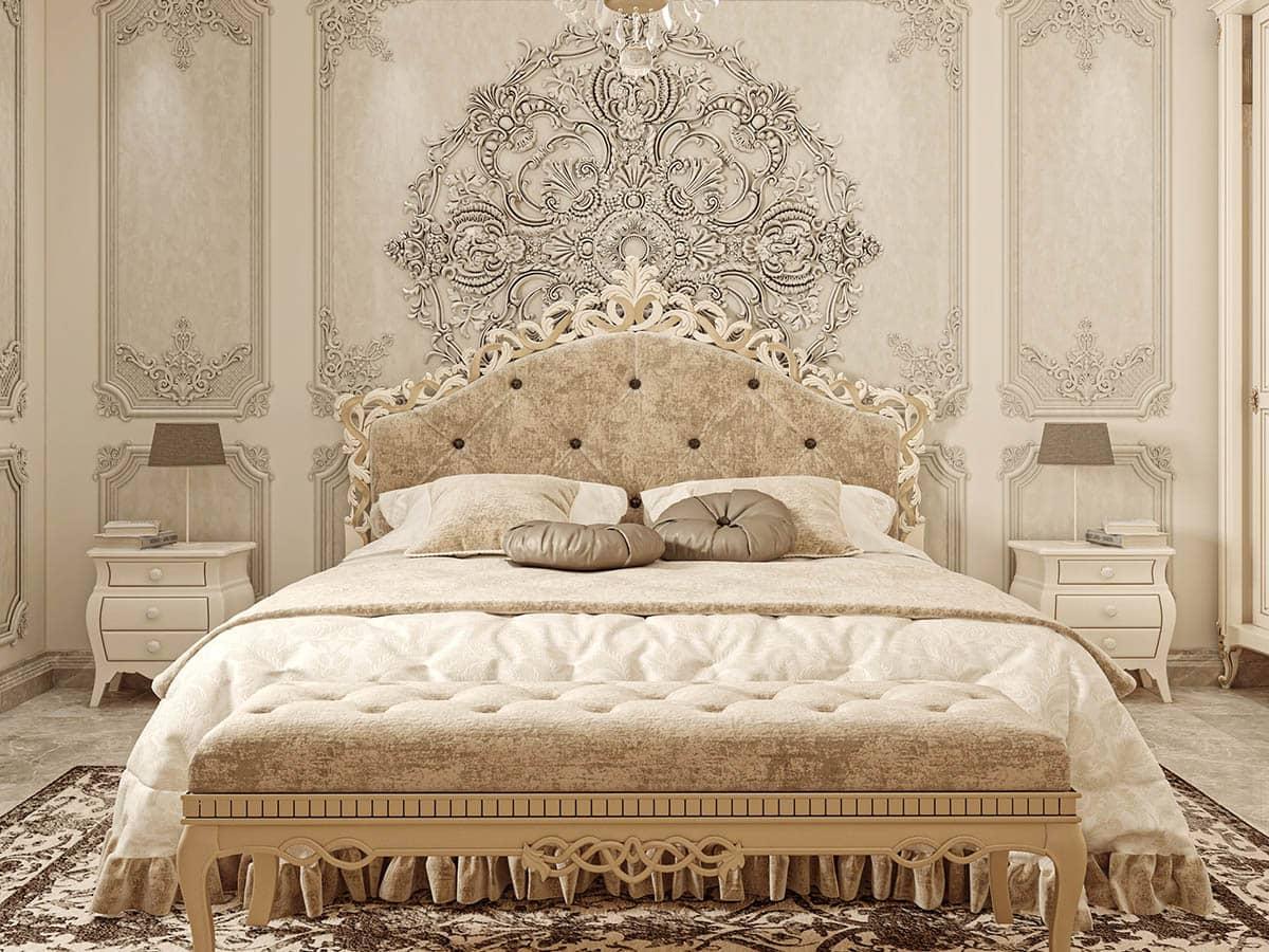 Thiết kế phòng ngủ theo phong cách châu Âu cổ điển