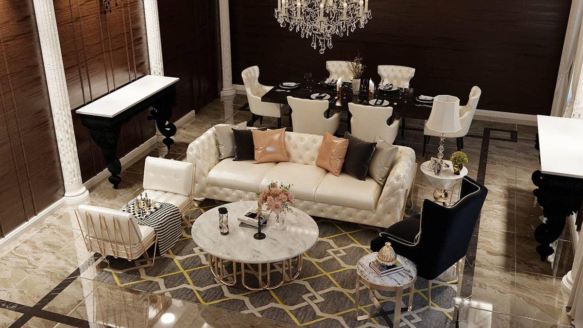 Đặc điểm thiết kế nội thất phong cách Châu Âu