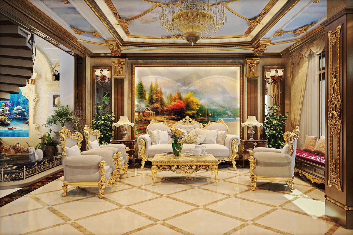 Phong cách thiết kế nội thất châu Âu sang trọng, tinh tế, đẳng cấp