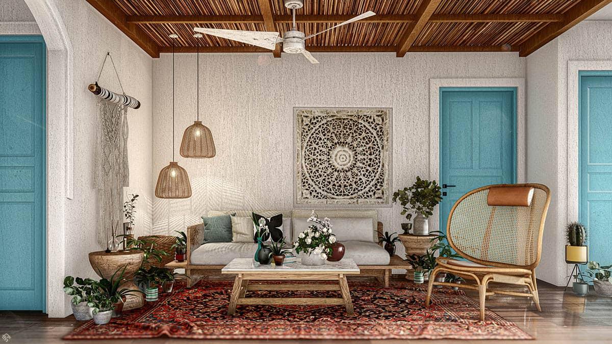 Phong cách thiết kế nội thất Rustic mộc mạc, dung dị