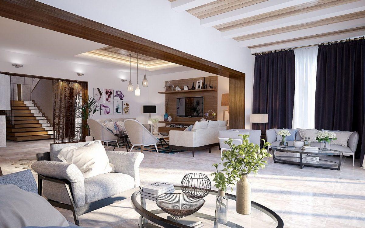 Phong cách thiết kế nội thất Vintage lai tạp giữa màu sắc cổ điển và hiện đại