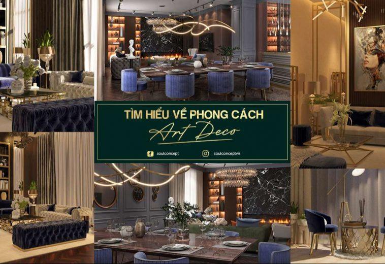 Tìm hiểu về phong cách Art Deco trong thiết kế nội thất